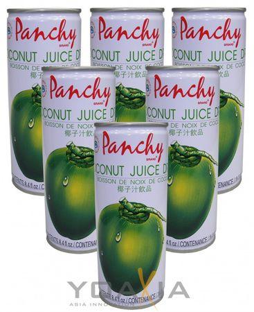[ 6x 250ml ] PANCHY Kokosnuss - Nektar / Coconut Juice Drink
