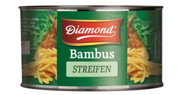 [ 227g / 140g ATG ] DIAMOND Bambussprossen, Streifen / Bambus Streifen