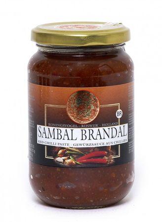 [ 375g ] KONINGSVOGEL Sambal Brandal / Sehr scharfe Sauce / Very Spicy Sauce