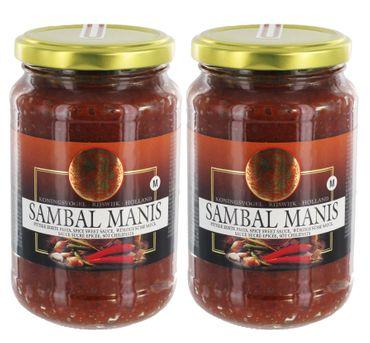[ 2x 200g ] KONINGSVOGEL Sambal Manis / würzige süße Sauce / Spicy Sweet Sauce