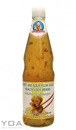 [ 700ml ] HEALTHY BOY BRAND Süß-Saure Pflaumensauce / Sweet and Sour Plum Sauce