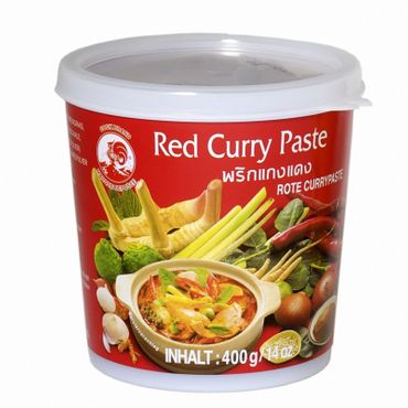 [ 400g ] COCK Rote Currypaste / Red Curry Paste
