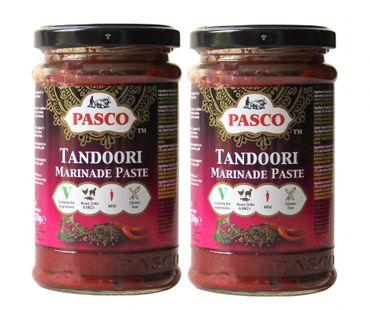 [ 2x 270g ] PASCO Tandoori Paste zum Grillen, Braten, Marinieren GLUTENFREI