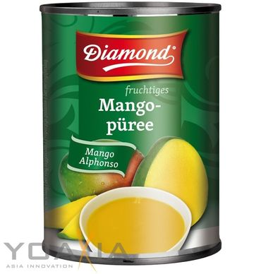 [ 850g ] DIAMOND Mango Püree Alphonso / Mango Pulp / Mangopüree