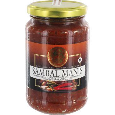 [ 200g ] KONINGSVOGEL Sambal Manis / würzige süße Sauce / Spicy Sweet Sauce