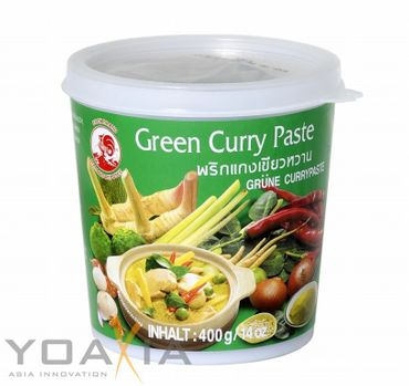 [ 400g ] COCK Grüne Currypaste / Green Curry Paste