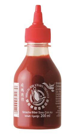 [ 200ml ] FLYING GOOSE Sriracha sehr scharfe Chilisauce SUPERSCHARF Chilli Sauce