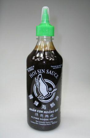 [ 2x 455ml ] FLYING GOOSE  Hoisin Sauce / Hoi Sin Sauce / milde Würzsauce
