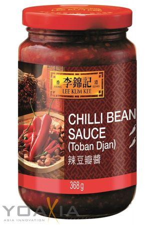 [ 368g ] LEE KUM KEE Scharfe Bohnensauce ( Toban Djan ) Chili Bean Sauce