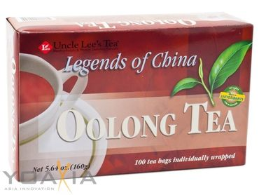 [ 160g / 100 Teebeutel ] UNCLE LEE'S Oolong Tee / Oolong Tea