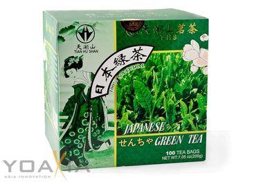 [ 200g (100x2g) ] TIAN HU SHAN Grüner Tee ( japanischer Art ) / Green Tea (Japanese style)