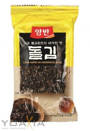 [ 6x 28g ] DONGWON Gewürzter Nori Seetang, getrocknet und geröstet (8x3,5g) aus Korea