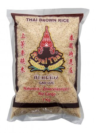 [ 1kg ] ROYAL THAI Naturreis AAA / Thai Brown Rice ( brauner Reis )