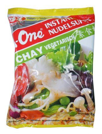 A-One [ 10x 85g ]  Instant Nudelsuppe [ Vegetarisch ]