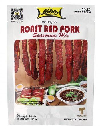 [ 100g ] LOBO Marinademischung für Schweinefleisch / Rost red pork seasoning mix