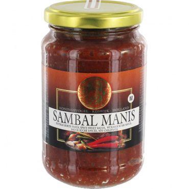 SPAREN [ 375g ] KONINGSVOGEL Sambal Manis / würzige süße Sauce / Spicy Sweet Sauce