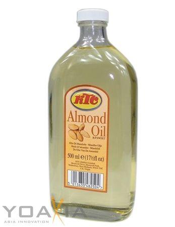 [ 500ml ] KTC Mandelöl / Speiseöl und für die Körperpflege / PURE ALMOND OIL