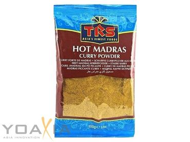 [ 100g ] TRS Scharfes Currypulver aus Madras / HOT Madras Curry Powder