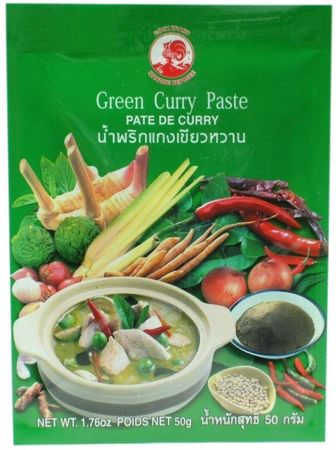 [ 12x 50g ] COCK Grüne Currypaste / Green Curry Paste