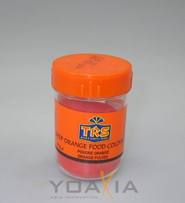 [ 25g ] TRS Lebensmittelfarbe [ ORANGE ] Pulver / deep orange food colour