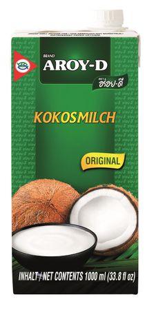 [ 1000ml ] AROY-D Kokosmilch Kokosnussmilch Cocosmilch Coconut Milk