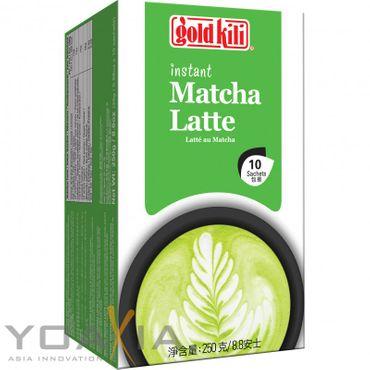 [ 250g (10x25g) ] GOLD KILI Instant MATCHA Latte Getränk / Matcha Latte