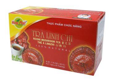 [ 50g (25x2g) ] HUNG PHAT Reishi Pilz Tee mit Artischocke / Trà Linh Chi / Lingzhi
