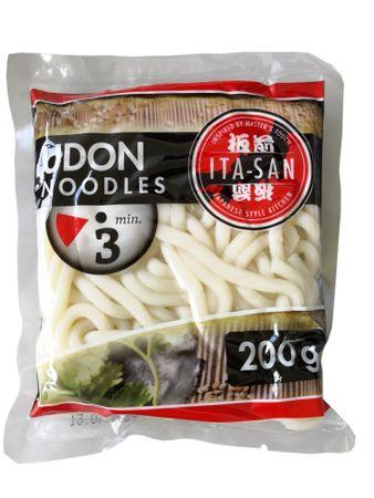 [ 10x 200g ] ITA-SAN Udon-Nudeln UDONG vorgekochte Nudeln nach japanischer Art