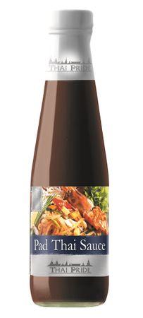 [ 295ml ] THAI PRIDE Pad Thai Sauce (gebratene Nudeln Thai Spezial Sauce) / mild