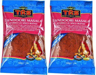 [ 2x 100g ] TRS Tandoori Masala Grill- Gewürzmischung / - Gewürzpulver / Barbecue Spice Blend