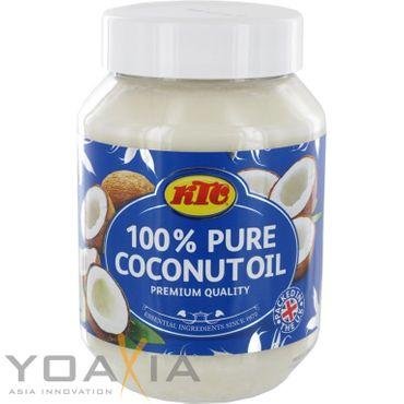 [ 3x 500ml ] KTC 100% Reines Kokosöl / Cocosöl / Kokosnussöl / Pure Coconut Oil