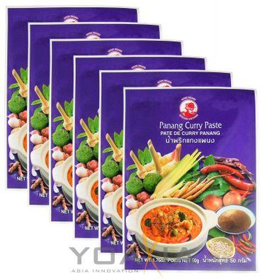 [ 6x 50g ] COCK Panang Currypaste / Panang Curry Paste