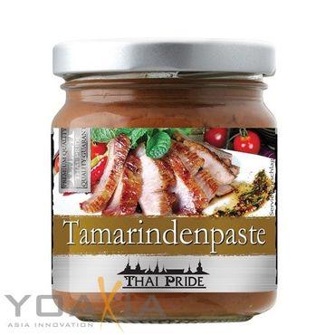 [ 195g ] THAI PRIDE Tamarind Paste ( 70% Tamarinde ) Tamarindenpaste EXOTIC FOOD