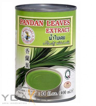 [ 400ml ] NANG FAH Pandan Blatt Extrakt / Pandan Leaves Extract / Bai Teoy