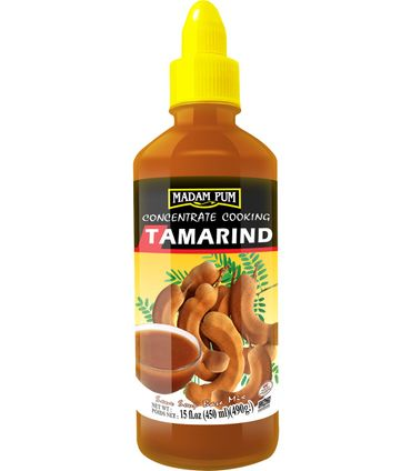 [ 450ml /490g ] MADAM PUM Tamarinde Sauce zum Kochen / Concentrate Cooking Tamarind