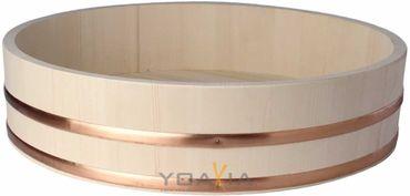 Hangiri  半切 Holzschüssel für Sushi Reis Ø 60 cm / H 16 cm Holzbottich KV