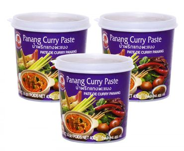 [ 3x 400g ] COCK Panang Currypaste / Panang Curry Paste