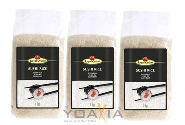 [ 3x 1kg ] ROYAL ORIENT Sushireis / Sushi Reis / Sushi Rice