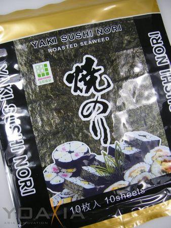 [ 8x 10 Blatt (200g) ] JHFOODS Yaki Sushi Nori GOLD Quality gerösteter Seetang