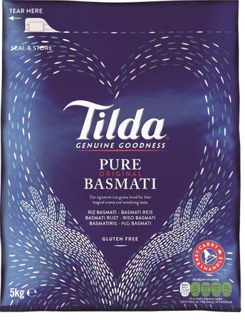 [ 5kg ] TILDA Pure Basmati / Basmati Reis / Basmatireis / Pure Original Basmati
