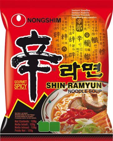 [ 20x 120g ] NONGSHIM Shin Ramyun GOURMET SPICY Instant Nudeln