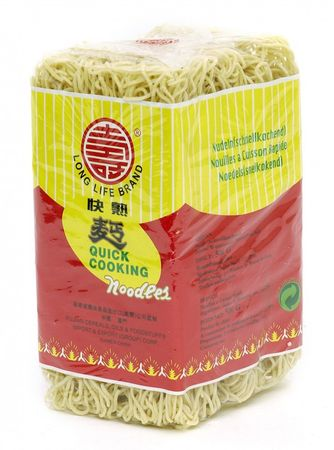 [ 500g ] LONG LIFE BRAND Schnellkochende Nudeln / Quick Cookig Noodles / Wok / Mie