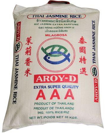 [ 10kg ] AROY-D Thai Jasmin-Reis AAA Quality Thai Hom Mali Jasmine Rice
