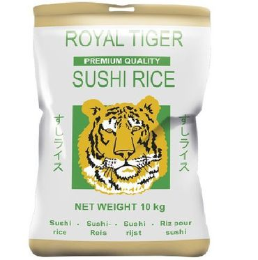 [ 10kg ] ROYAL TIGER Sushi Reis PREMIUM QUALITY Sushi Rice KV