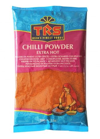[ 10x 100g ] TRS Chili Pulver EXTRA SCHARF / Chilli Powder Extra Hot