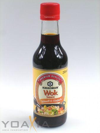 [ 3x 250ml ] KIKKOMAN Wok Sauce Wok Sojasauce - Schnell & Einfach