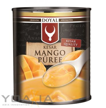 [ 850g ] DOYAL Mango Püree KESAR / pürierte Mango / Kesar Quality / Mangopüree