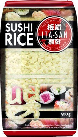 [ 500g ] ITA-SAN  Spitzenreis Rundkorn, Sushi Reis / PREMIUM RICE Round Grain
