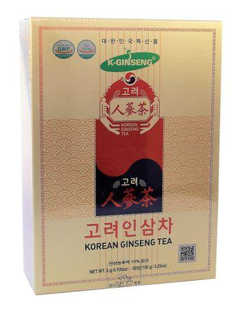 [ 50x 3g ] KOREAN GINSENG TEA Instantzubereitung für Teegetränk mit weißem Ginseng-Extrakt