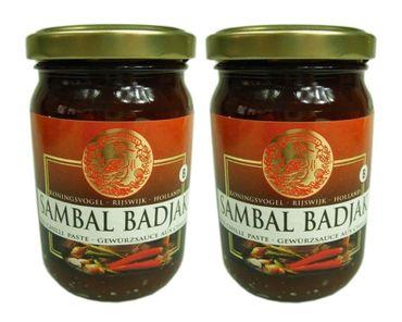 [ 2x 200g ] KONINGSVOGEL Sambal Badjak / Würzige Sauce / Spicy Sauce